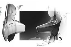 Resultado de imagen de car interior sketches