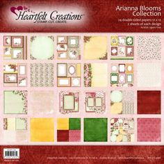 Arianna Blooms Paper Collection: click to enlarge