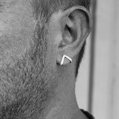 7d67b079c0d0b 37 Best Men's Earings images | Earrings, Accessories, Ears piercing