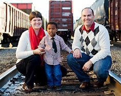 family blessed by adoption