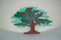 Tree toy Wooden toy 3D puzzle Wooden puzzles by FamilyPuzzle