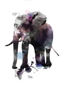 HOME Love and Ink Nicole RIndsig print design grafik Elephant Images, Elephant Wall Art, Elephant Love, Joss And Main, Drawing Reference, Wall Art Prints, Print Design, Moose Art, Ink