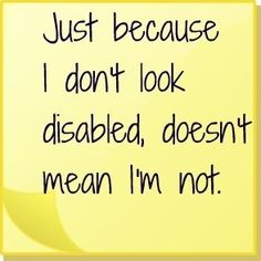 Endometriosis is an invisible illness, it disables you, everything you do is twice as hard!