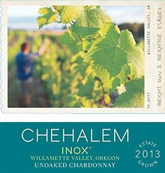 2013 Chehalem INOX Chardonnay 750 ml *** Learn more by visiting the image link.
