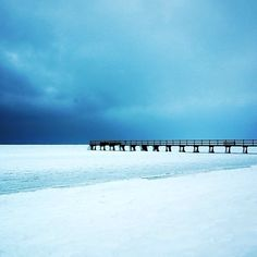 First Winter snow 2014 in Falsterbo, Sweden. Winter Snow, Winter White, Snow Scenes, Winter Beauty, Wonderful Places, Sweden, Coast, Exterior, Explore