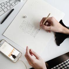 Sketch. Lettering art. Handlettering. Typography. Typography inspired. Handmade font.