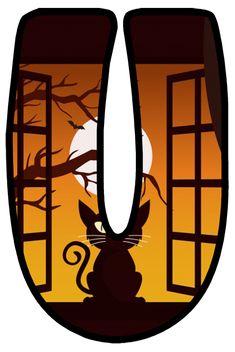 Halloween Letters, Lululemon Logo, Holiday, Art, Alphabet, Gatos, Letters, Cats, Art Background