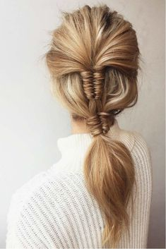 Graduation Double Infinity Braid #hairstyle #braids #infinitybraids ❤️ Looking for cool graduation hairstyles with cap? Here you'll find lots of updos and half up half down ideas for short, medium, and for long hair. ❤️ See more: http://lovehairstyles.com/graduation-hairstyles-ideas/ #lovehairstyles #hair #hairstyles #haircuts #graduationhairstyles #graduationhair #promhair #promhairstyles #graduation