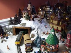Christmas Village Ideas | hope not tooo late - DH's Christmas Village #1 - Holiday Forum ...
