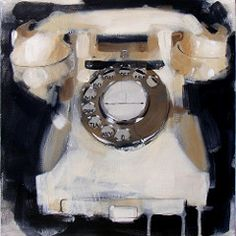 White Telephone | by James Paterson Art