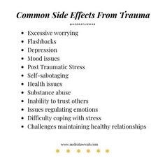 Mental And Emotional Health, Emotional Healing, Mental Health Awareness, Trauma Quotes, Inner Child Healing, Trauma Therapy, Coping With Stress, Stress Disorders, Narcissistic Abuse