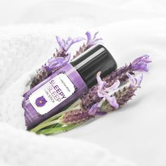 POSH SLEEPY SLEEP - skin stick for lavender aromatherapy and dry skin!  Soothe your senses and your skin with shea butter and lavender