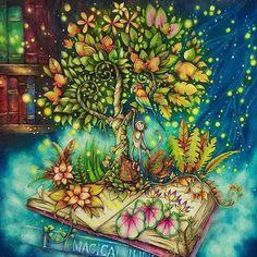 #Repost @artecomoterapia with @repostapp Wow!!!! É muito talento!!!! @Regrann from @cherrycolours - #selvamagica #coloringbook #livredecoloriage #artecomoterapia #coloring #coloriage #instaart #instacoloring #magicaljungle #johannabasford #fabercastellpolychromos #prismacolor #Regrann
