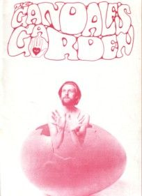 gandalf's garden, issue one, front cover