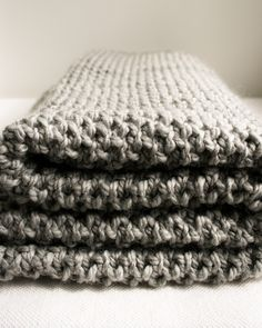 Fluffy Brioche Baby Blanket - - the purl bee