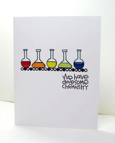 Card by PS GDT Jennie Moczan using PS stamp set Great Chemistry