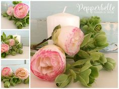 Bundle styled stock - spring flowers by Pepperbelle Tinkers on @creativemarket