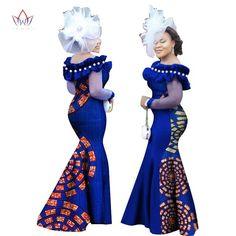 Image of African Ankara Long Sleeve Dashiki Long Maxi Dresses African Dresses For Kids, African Maxi Dresses, African Women, African Fashion, African Wear, African Style, Women's Fashion, Nigerian Dress Styles, Ankara Styles