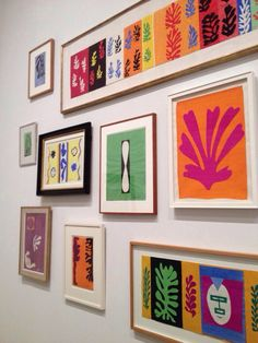 Matisse, Sections of the compositions that covered his studio in Vence.  http://www.pinterest.com/judithposer/matisse-cut-outs/