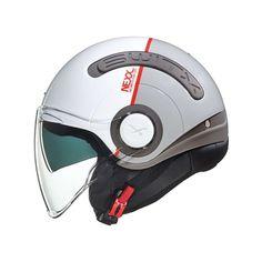 Κράνος Jet #Nexx SX.10 City Zen White-Grey Motorcycle Helmets, Zen, City, City Drawing, Cities, Motorcycle Helmet, Meditation