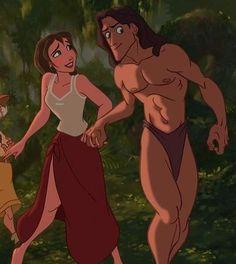 jane porter and tarzan Jane Porter, Disney Jane, Disney Magic, Tarzan And Jane Costumes, Jane From Tarzan, Disney Dress Up, Disney Movies, Disney Characters, Disney Princesses
