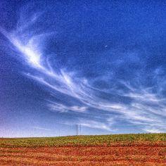 Nuvens Cirrus. Ano 2014