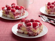 Easy Raspberry Tiramisu #RecipeOfTheDay