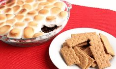 In this episode of Laura in the Kitchen Laura Vitale shows you how to make Smores Dip!