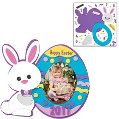 Amazon.com: Easter Craft Kits | Easter Bunny Egg Shaped House Kit, Bunny Bottom Wreath Sign Kit & Picture Photo Frame Magnet Kit | For Kids DIY Classroom Daycare Homeschool Art Decor Gift Summer Toys Boys Girls: Toys & Games