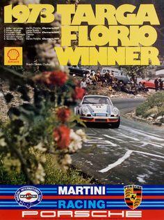 1973 Targa Florio – Sport is lifre Porsche 911 Rsr, Porsche Motorsport, Porsche Carrera, Old Sports Cars, Sports Car Racing, Race Cars, Auto Racing, Le Mans, Porsche Factory