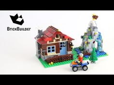 Lego Creator 31025 Mountain Hut - Lego Speed Build