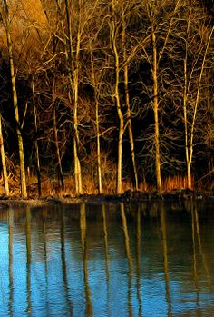 Ice Lake Reflection - Digital Art by Gerald Marella