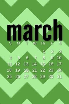 it's MARCH!