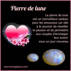 La pierre de lune est un merveilleux cadeau pour les amoureux car elle a le pouvoir de réveiller la passion Mineral Food, Les Chakras, Birthday Crafts, Stones And Crystals, Reiki, Natural Health, Meditation, Spirituality, Gemstones