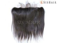 "Brazilian Virgin Hair 13*4"" Silk Base Lace Frontal Closure Silky Straight Wavy (2)"