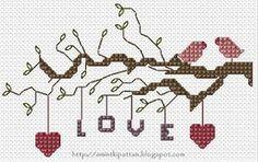 #Cross Stitch #Love