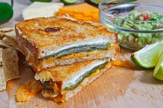 Jalapeno popper grilled cheese - yes please!
