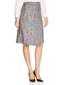Theory Gantrima Bouclé Wrap Skirt | Bloomingdale's