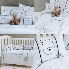 Classic Winnie THE Pooh Bedding SET Disney Toddler Kids Single Quilt Cover  SET | EBay