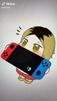 Haikyuu Funny, Haikyuu Fanart, Haikyuu Anime, Funny Anime Pics, Cute Anime Guys, Anime Films, Anime Characters, Kuroken, Kenma Kozume