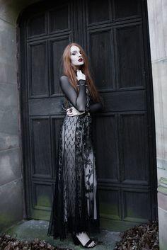 Pinterest: @MagicAndCats ☾ Olivia Emily - UK Fashion Blog.: Dark & Beaded.