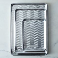 Nordic Ware Prism Aluminum Baking Sheets on Food52 Puerto Rico, The Best Burger, Chocolat Valrhona, Homemade Pastries, Homemade Bagels, Meatball Bake, Nordic Ware, Recipe Directions, Chocolate Chip Oatmeal