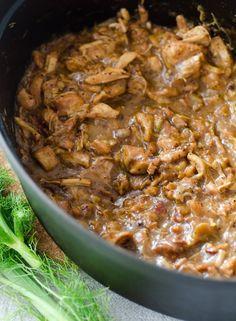 Recipe: Chicken Ragù with Bacon