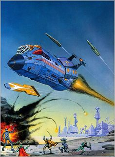Astrona: Angus McKie Space and Sci-Fi Art | Space and Astronomical Art Journal