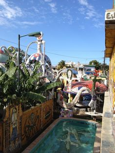 One of my favorite places in Cuba, Jose Fuster's home and neighborhood