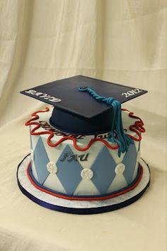 2012 graduation cake. Nice.        by  Sandra's Cakes