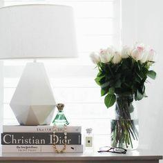 beautiful bedside table