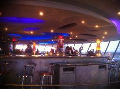 Encounter Restaurant - Los Angeles, CA, États-Unis. Jetson's bar.