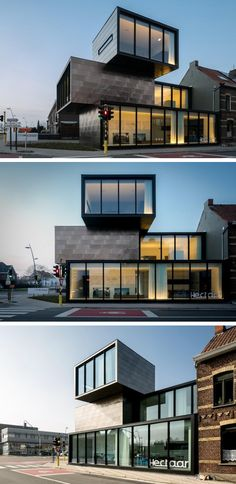CAAN Architecten designed an office building for the property development company HECTAAR in Roeselare, Belgium.