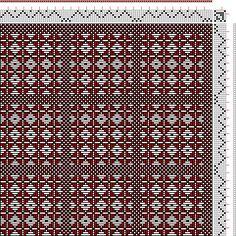 Hand Weaving Draft: Frickinger Sample, Weber-Bild-Buch, Frickinger, Johann Michael, 6S, 6T - Handweaving.net Hand Weaving and Draft Archive